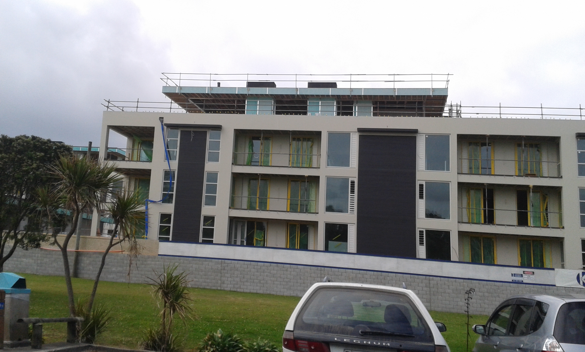 Owera Apartment Building nearly completed